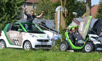 Bergrennen in Hilter Borgloh 01.+02.08.2015 E-Mobil Cup