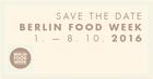 Foodweek Berlin