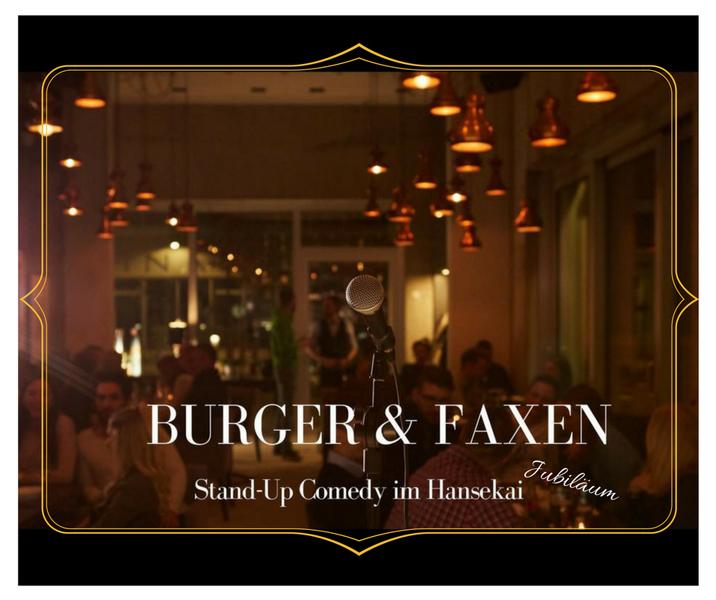 Burger & Faxen Jubiläum