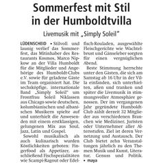 Presse: LN vom 01.09.2014
