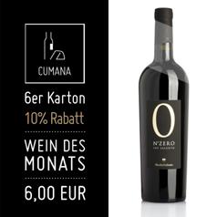 2013 N° Zero Negroamaro IGT Salento (6,00€ pro 0,75l Fl.)