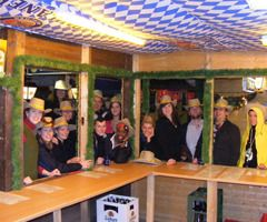 die 1. Mannschaft des Schweriner Sport Club besuchte das Bolero + die Keiler Hütte