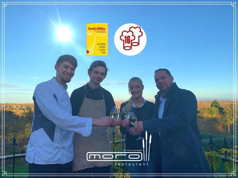 moro-Restaurant 16 Punkte Gault&Millau 2019!