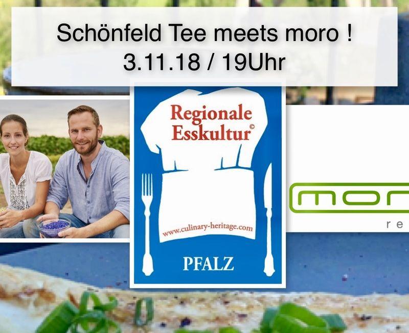 Schönfeld Tee meets moro!