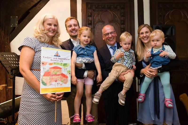 Spende an die Kinder- und Jugendfarm Bremen/Habenhausen