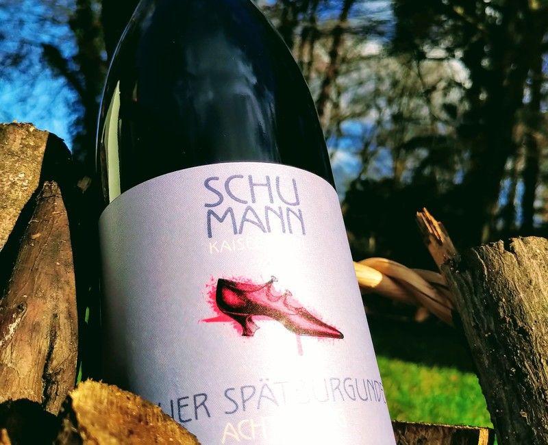 Wein an den Lippen - Sober is over, à la Pink!