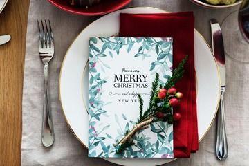 Wählen Sie Ihr Weihnachts-Menü!